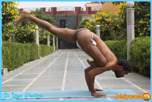 ... Flying pigeon pose [Eka pada galavasana] » 2/3 » Yoga Pose Weekly