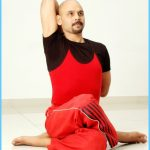 Gomukhasana (Cow Head Pose) - Yoga Vidya International
