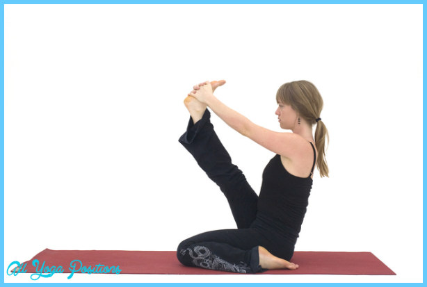 Heron Yoga Pose - Krounchasana