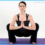 malasana garland pose full squat standing yoga poses