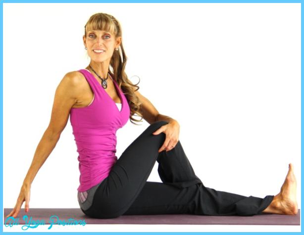 Rotated Sage Pose - Parivritta Marichyasana Yoga Pose