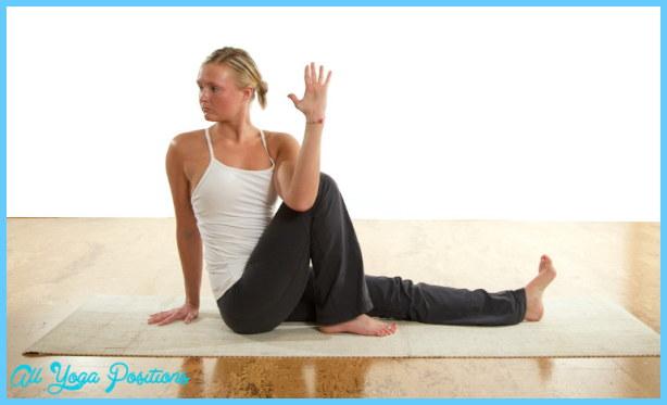 Yoga postures - alvia predstavovať Marich III Starter