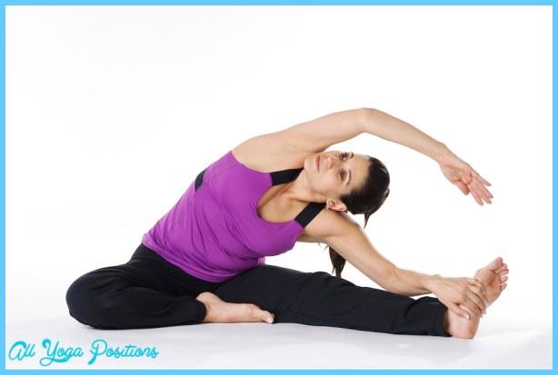 ... Head to Knee Pose – Parivrtta Janu Sirsasana | YogaBucket.com