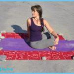 Practising Yoga Asana photos to show poses by Nacharlet