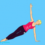 Side Plank Yoga Pose is an arm balance pose that targets the triceps ...