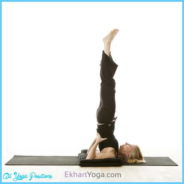Yoga pose: Supported Shoulderstand Pose/Salamba Sarvangasana