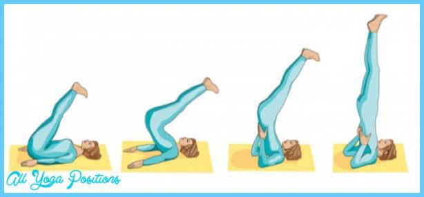Posturas de yoga: La vela - Salamba Sarvangasana - Yogaesmas