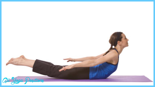 Yoga Locust Pose Yoga Salambhasana or Shalabasana Pose yoga-locust ...