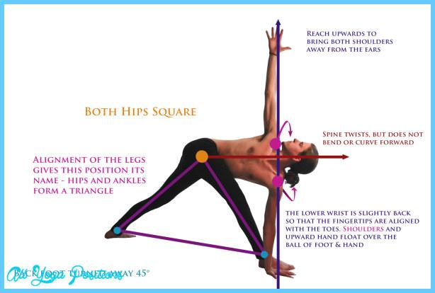 Parivrtta Trikonasana-Revolved Triangle Pose | Asana Project | UP4Yoga