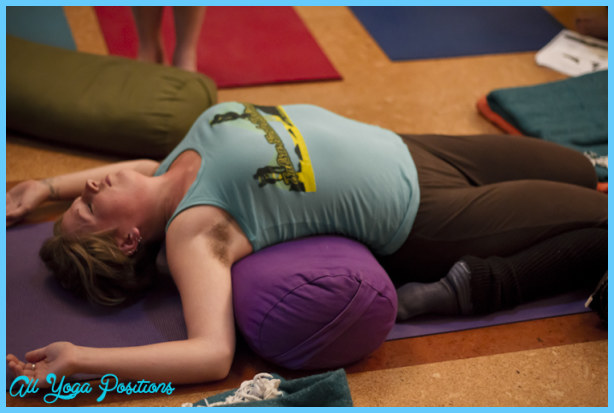 Supta Virasana,Reclining Hero Pose  Yoga Pose Of The Day