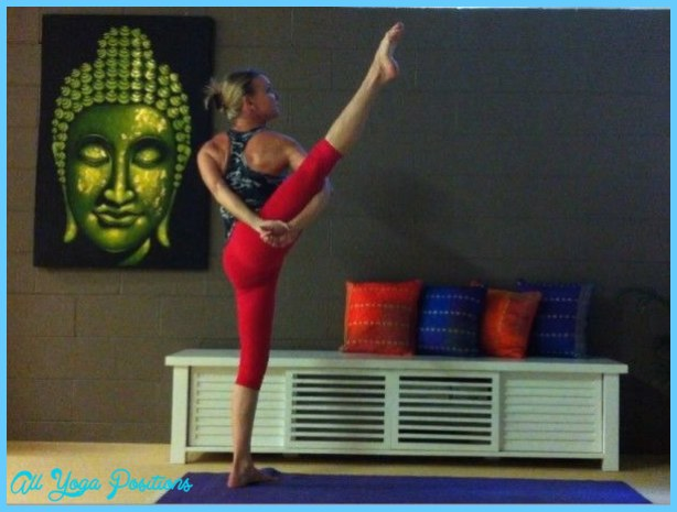 Svarga Dvidasana (Bird of Paradise) » Yoga Pose Weekly