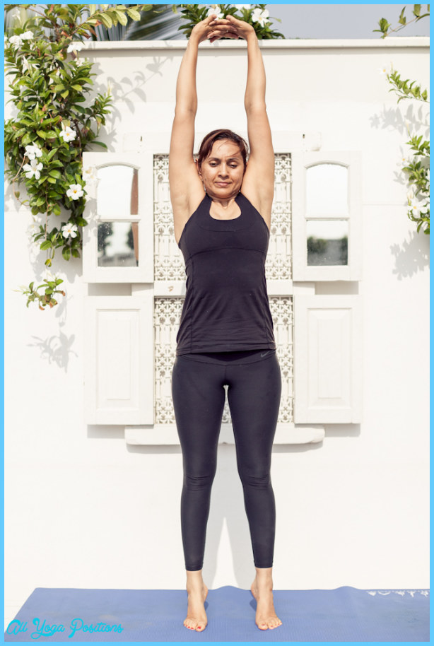 Tadasana (palm tree pose) - Total Yoga