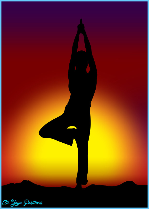 Tree Pose Yoga - AllYogaPositions.com