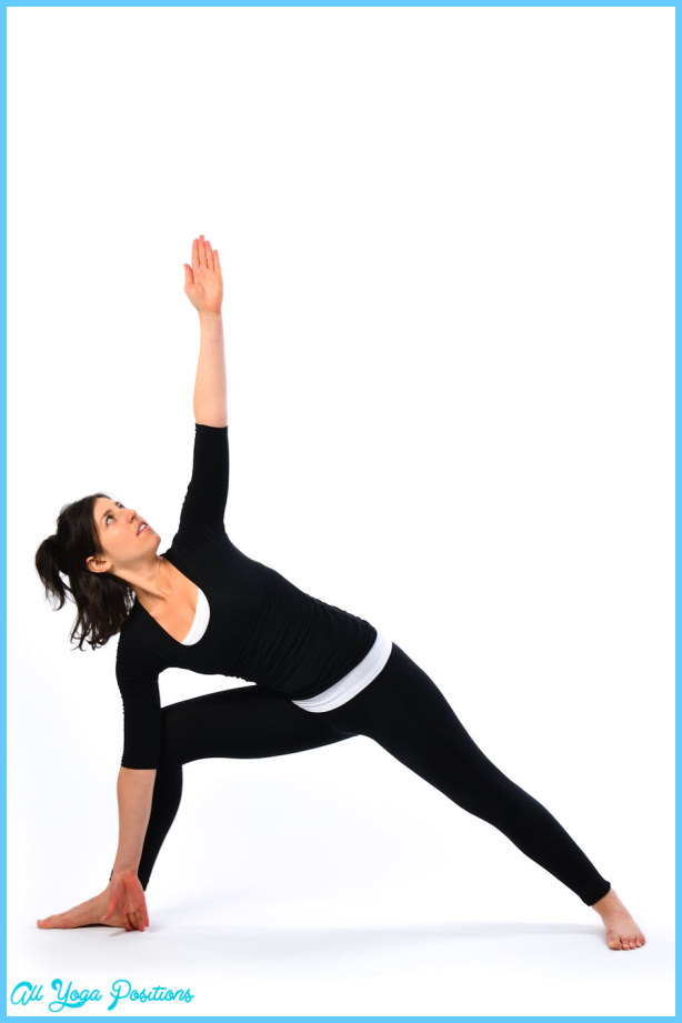 Triangle Pose Yoga - All Yoga Positions - AllYogaPositions ...