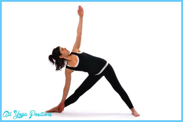 Triangle pose - Trikonasana (2) - Satya Live Yoga - Mornington ...