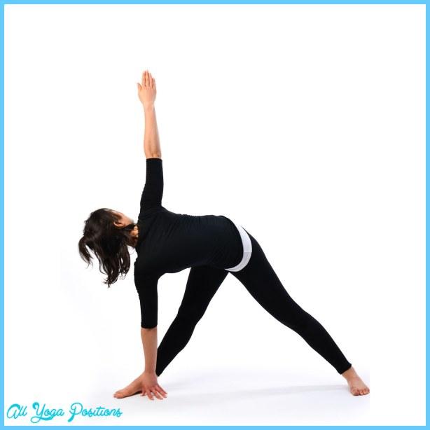 Revolved Triangle pose - Trikonasana - Satya Live Yoga - Mornington ...