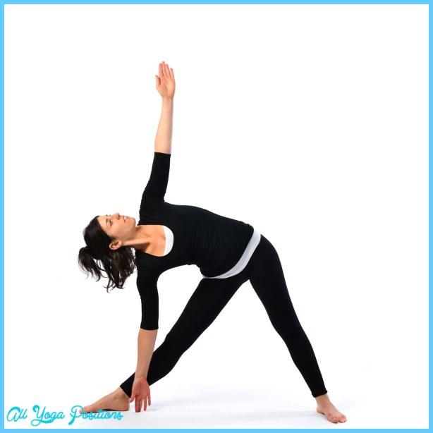 Triangle pose - Trikonasana - Satya Live Yoga - Southern Tablelands