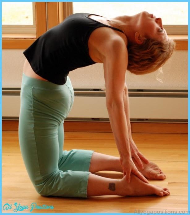 Camel Pose  Ustrasana,The posture improves core strength, spinal ...