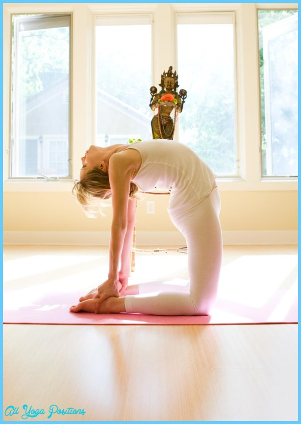 Camel pose AKA Ustrasana | yoga | Pinterest