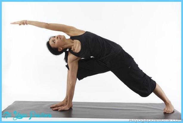 File:Parsvakonasana Utthita B - Revolved Side Angle Pose B - with arm ...