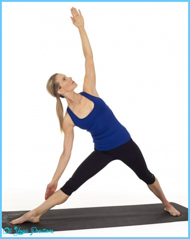 ... beautiful rendition of Triangle Pose is from http://kristinmcgee.com