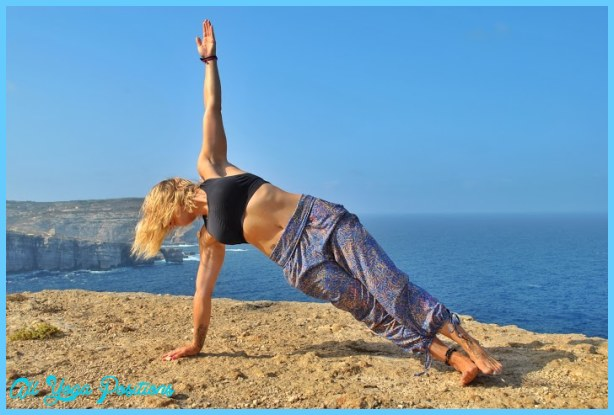 ... arm balance, Side Plank Pose — Vasisthasana (VAH-shees-THAH-suh-nuh