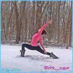 Viparita Virabhadrasana aka Reverse/Peaceful Warrior pose #snowga # ...