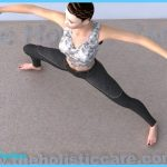 Virabhadrasana II strengthens and stretches the legs, ankles, groins ...