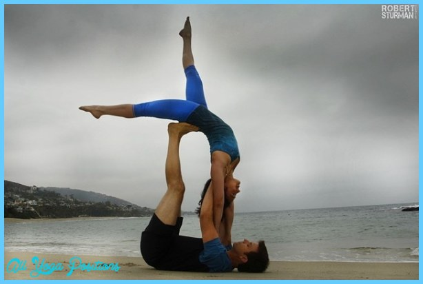 2 Person Yoga Challenge For Beginners Abc News