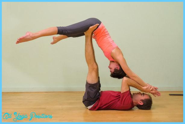 Yoga Poses 2 Person 8