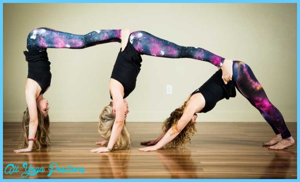Yoga Poses 2 Person Easy 17