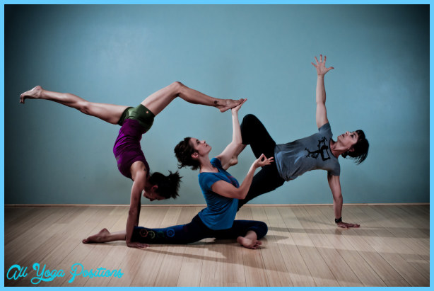 Yoga Poses 3 Person Allyogapositions Com
