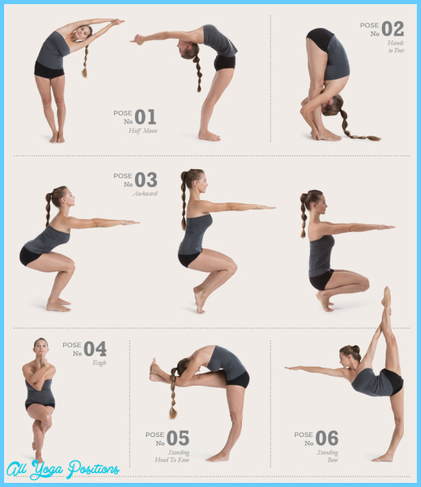 Yoga Poses Chart Allyogapositions Com