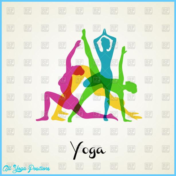 Yoga Poses Clipart 57