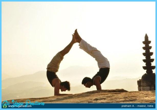 Yoga Poses Couple 0