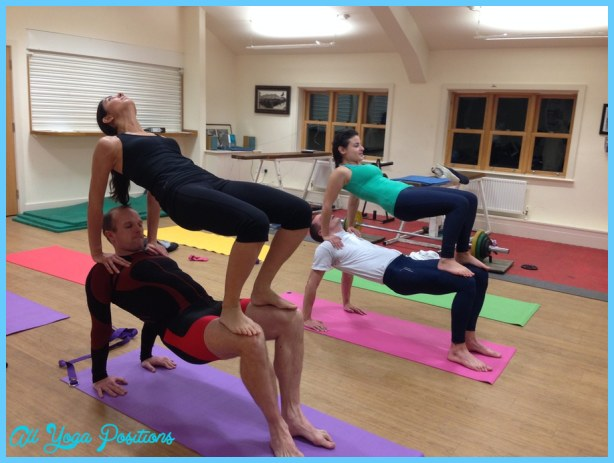 Yoga Poses For Three People Allyogapositions Com