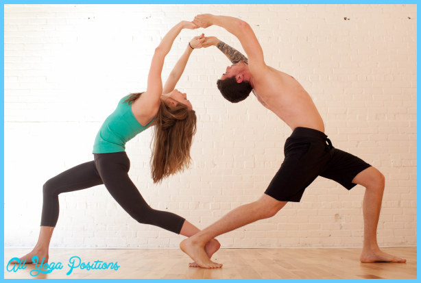 Yoga Poses For Two People 31