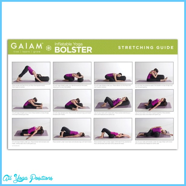 Yoga poses using bolster - All Yoga Positions ...