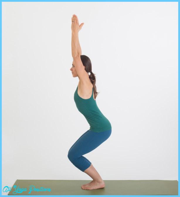 Chair Pose Yoga All Yoga Positions Allyogapositions