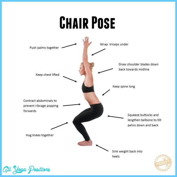 Chair pose yoga all yoga positions for Chair yoga benefits