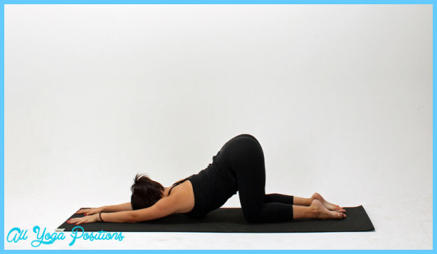 Extended Puppy Pose Yoga All Yoga Positions