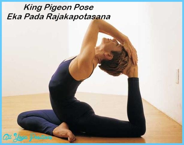 Pigeon Pose Yoga - AllYogaPositions.com