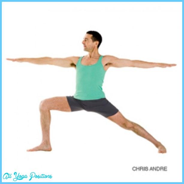 Yoga warrior pose - AllYogaPositions.com  Yoga warrior po...