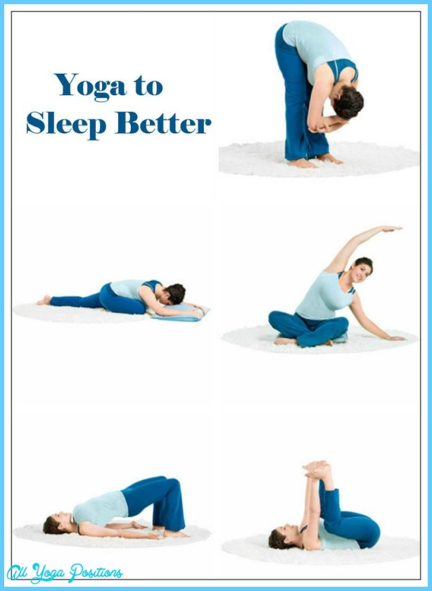 YOGA POSES FOR INSOMNIA RELAXATION