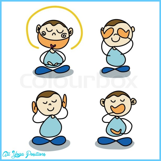 Meditation posture hands