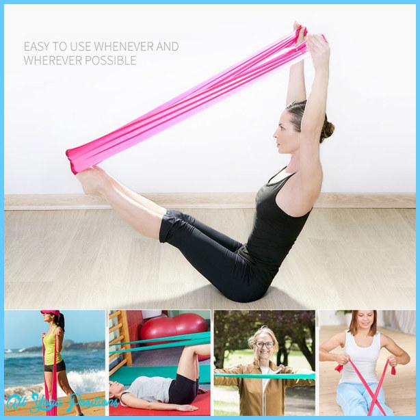 Pilates Stretch Band Exercises