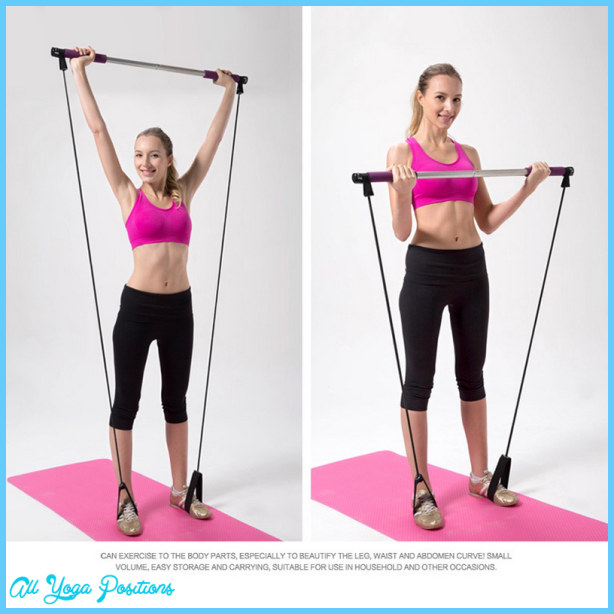 Exercise Bands Bar: Pilates Bar With Bands Exercises