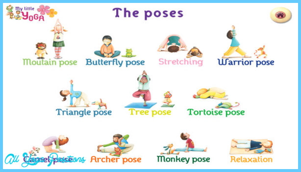 Easy Yoga Poses For Kids Allyogapositions Com