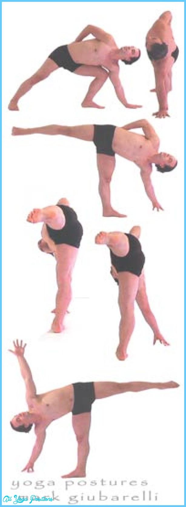 Half Moon Yoga Pose - AllYogaPositions.com