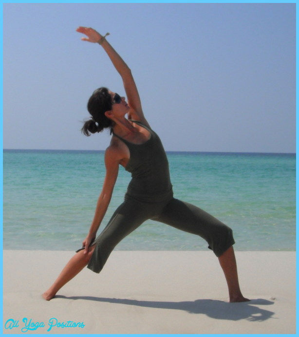 Re Energizing Left >> Peaceful Warrior Yoga Pose | AllYogaPositions.com